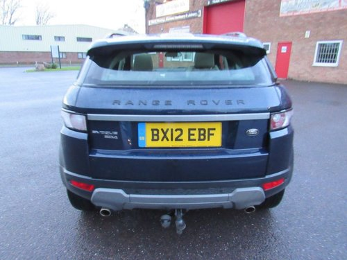 2012 RANGE ROVER EVOQUE PURE.T.SD4 2.2.AUTO DIESEL 5 DR SOLD (picture 3 of 6)