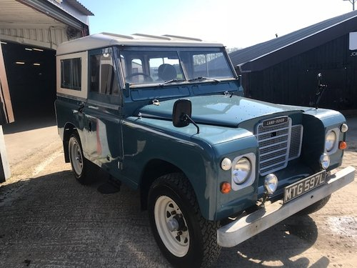 1972 Land Rover® Series 3 *Tax Exempt* (MTG)  SOLD (picture 1 of 6)