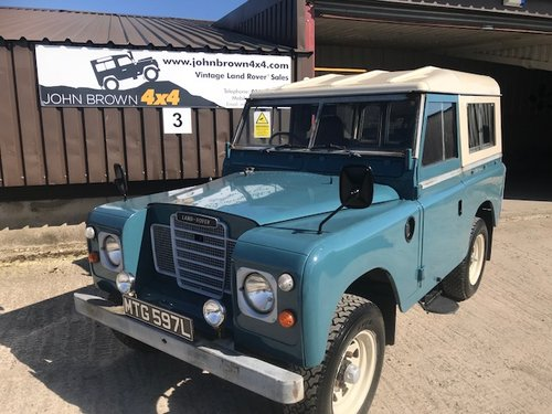 1972 Land Rover® Series 3 *Tax Exempt* (MTG)  SOLD (picture 2 of 6)