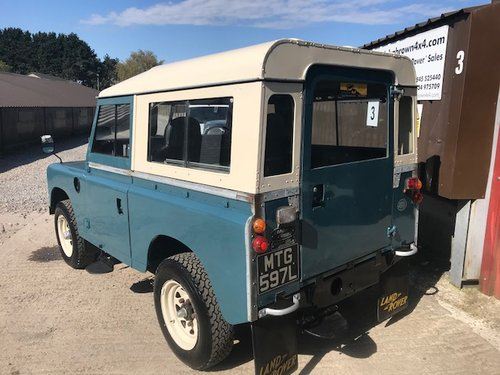 1972 Land Rover® Series 3 *Tax Exempt* (MTG)  SOLD (picture 3 of 6)