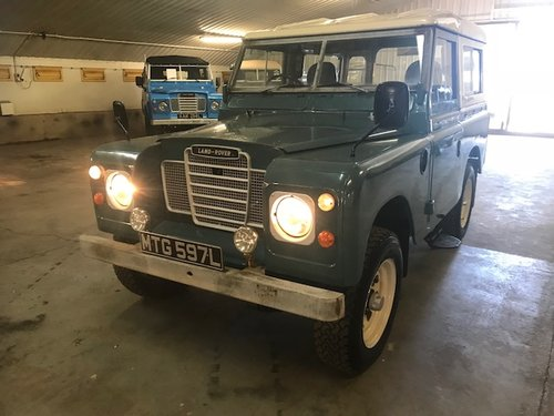 1972 Land Rover® Series 3 *Tax Exempt* (MTG)  SOLD (picture 4 of 6)