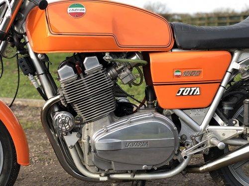 Laverda 180 Jota 1980 1000cc SOLD (picture 4 of 6)