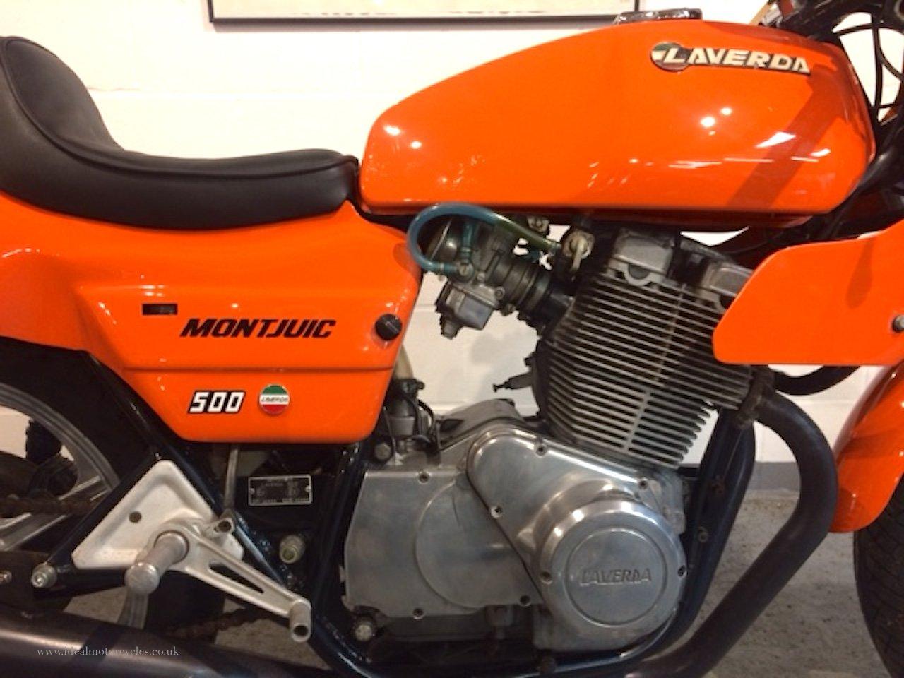 1982 Laverda Montjuic 500cc Twin Mk2 For Sale (picture 3 of 6)