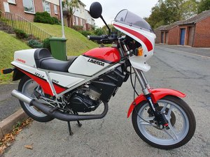 1985 Laverda LB125 immaculate just 630 miles