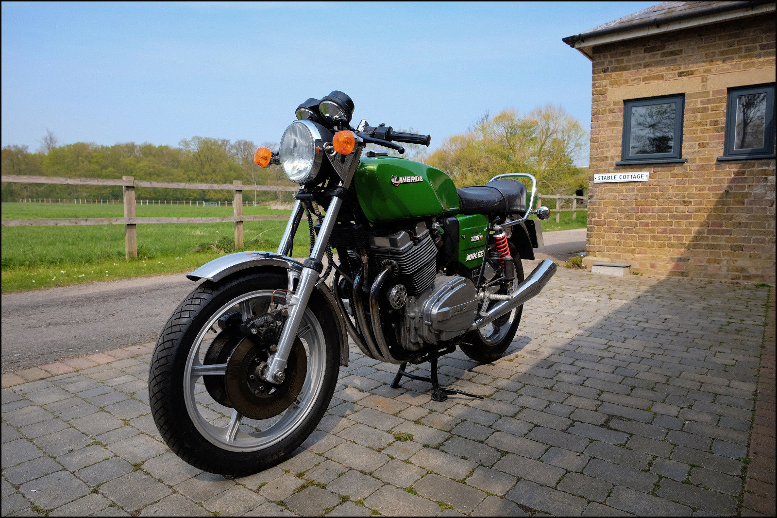 1980 Laverda Mirage1200 180° SOLD Subject to payment For Sale (picture 1 of 6)