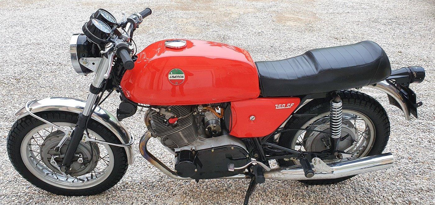 1971 MOTO LAVERDA 750 SF For Sale (picture 1 of 6)