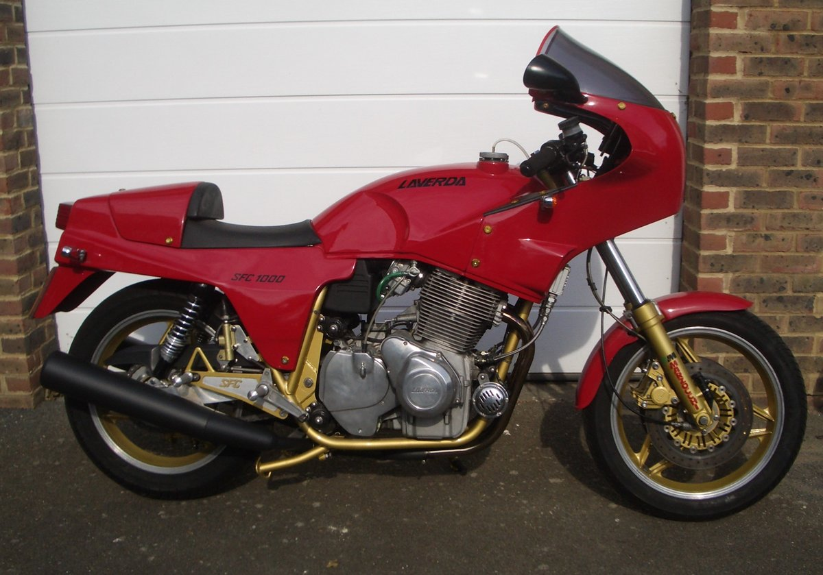 1986 Laverda SFC 1000 Outstanding Condition For Sale (picture 1 of 6)