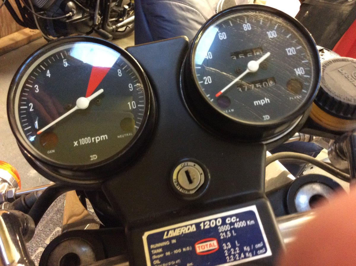 1980 Laverda Mirage1200 180° SOLD Subject to payment For Sale (picture 4 of 6)