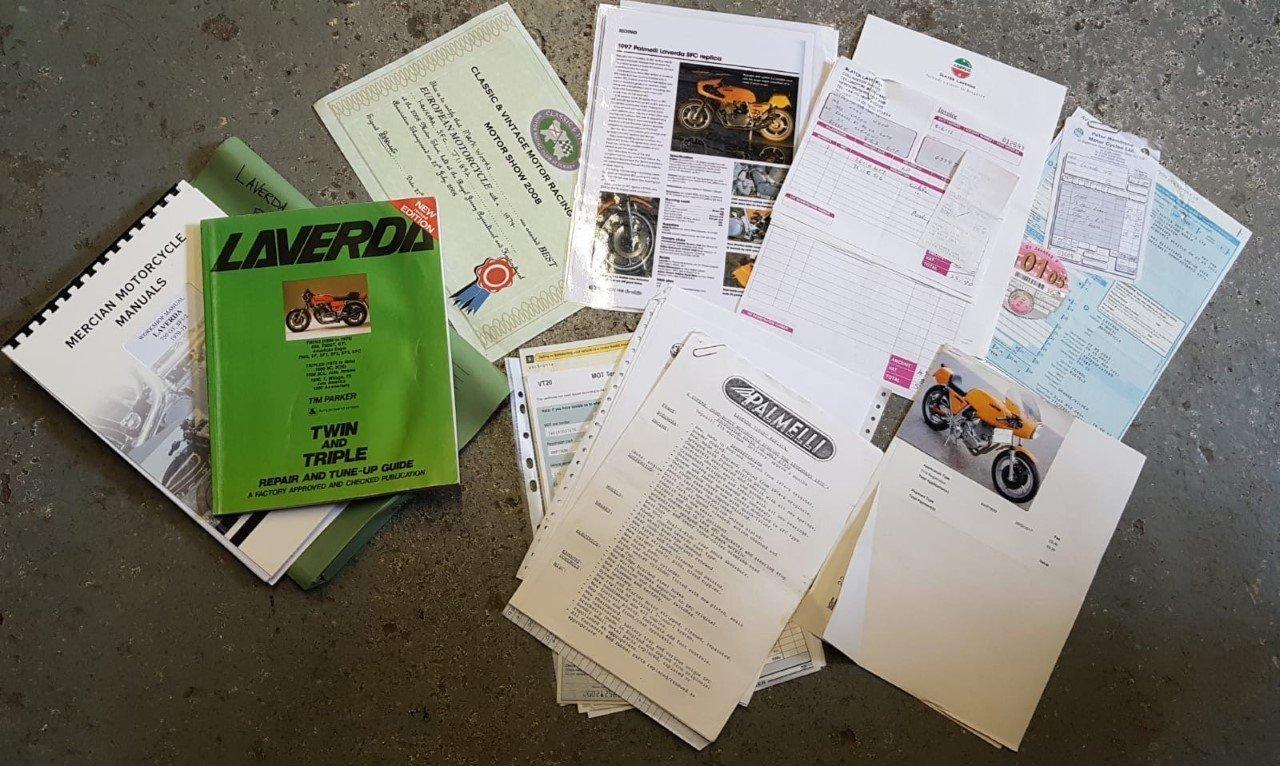 """1974 Laverda SFC """"Palmelli"""" For Sale (picture 2 of 6)"""