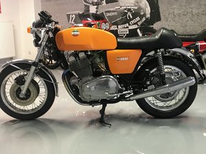 1975 Laverda 3C Wire wheel, completely restored and Show