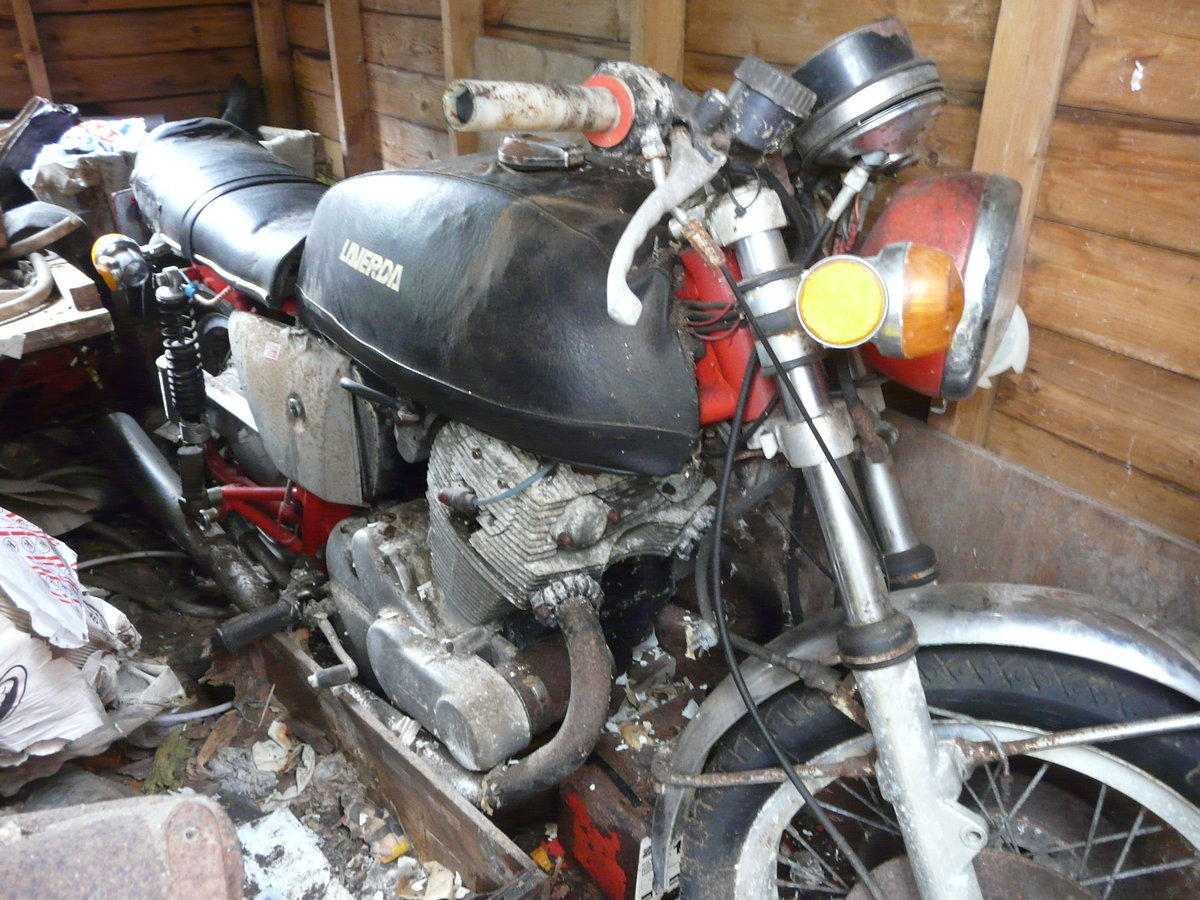 LAVERDA SF2 in need of complete renovation