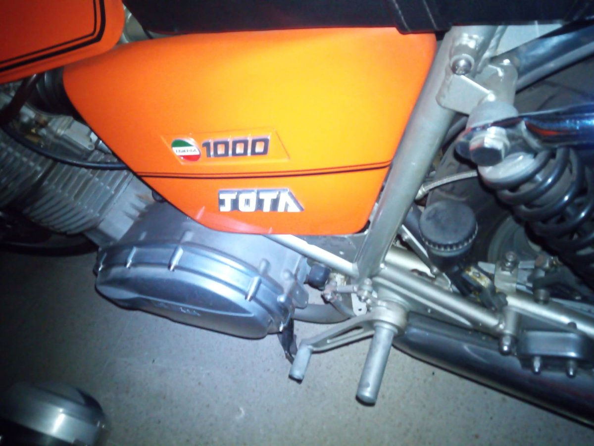 1981 Laverda 1000 jota swap for Ducati 900ss mhr For Sale (picture 6 of 6)