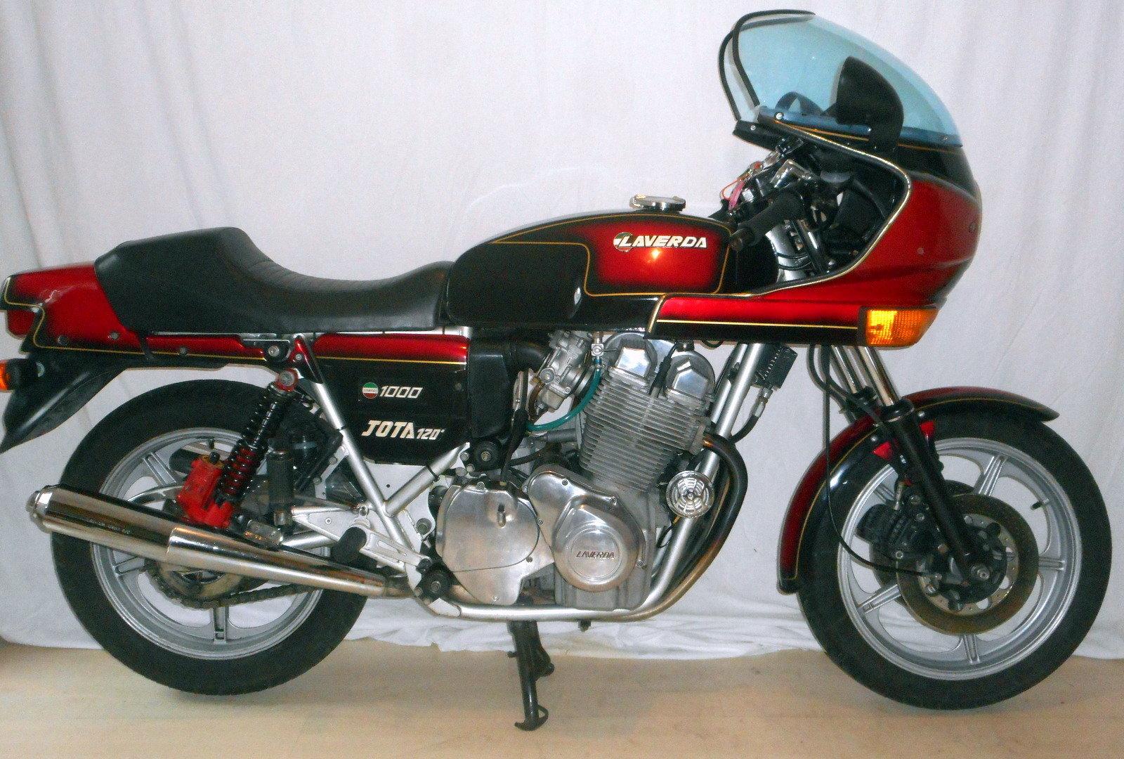 1982 Laverda jota 120 original For Sale (picture 3 of 4)