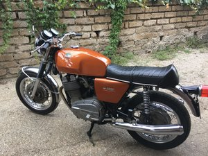 laverda 1000 first series drum brake