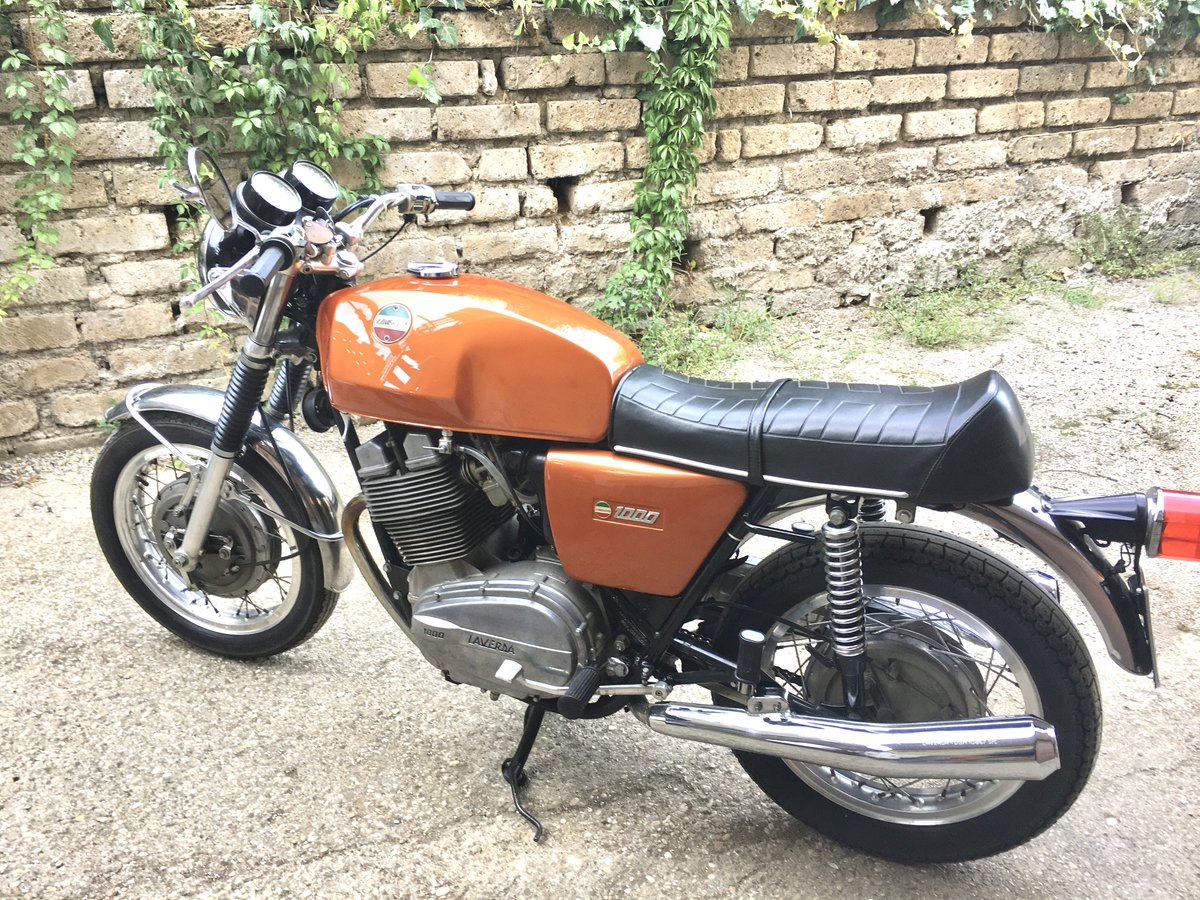 1973 laverda 1000 first series drum brake For Sale (picture 6 of 6)