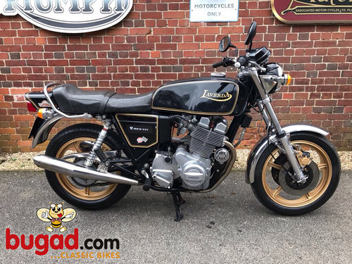 1981 Laverda 1200cc Triple - Blackest Black - Lovely SOLD (picture 1 of 6)