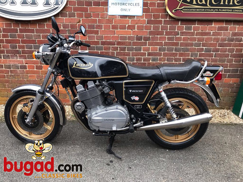 1981 Laverda 1200cc Triple - Blackest Black - Lovely SOLD (picture 3 of 6)