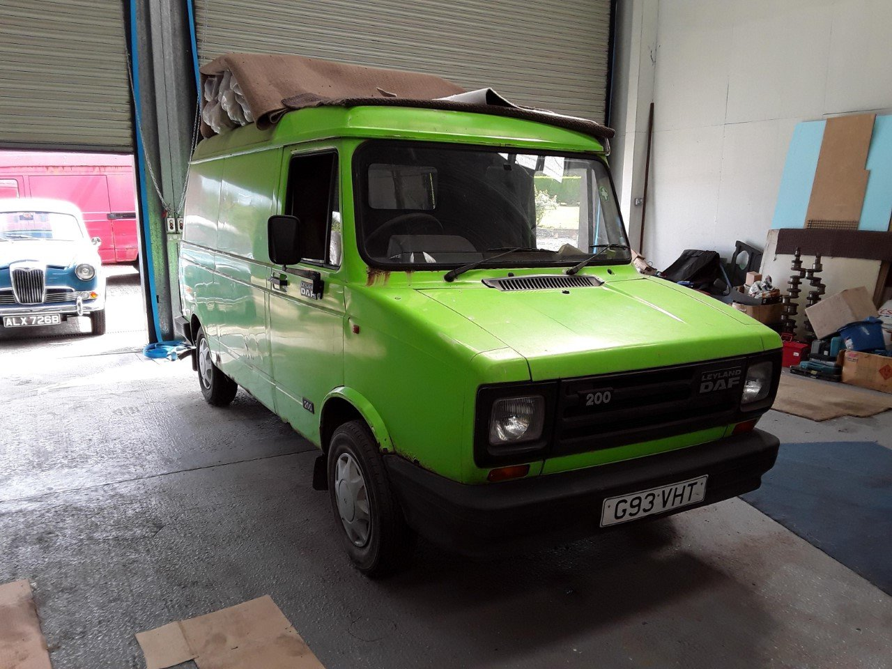 1989 Leyland LDV DAF 200 2.5t Classic Van  For Sale (picture 1 of 6)