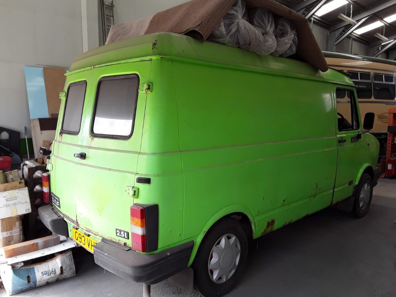 1989 Leyland LDV DAF 200 2.5t Classic Van  For Sale (picture 2 of 6)