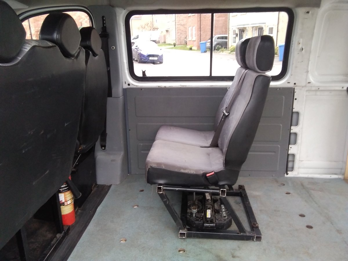 2007 LWB High Roof Crew Cab 2.5 Maxus ideal Camper Conv For Sale (picture 3 of 6)