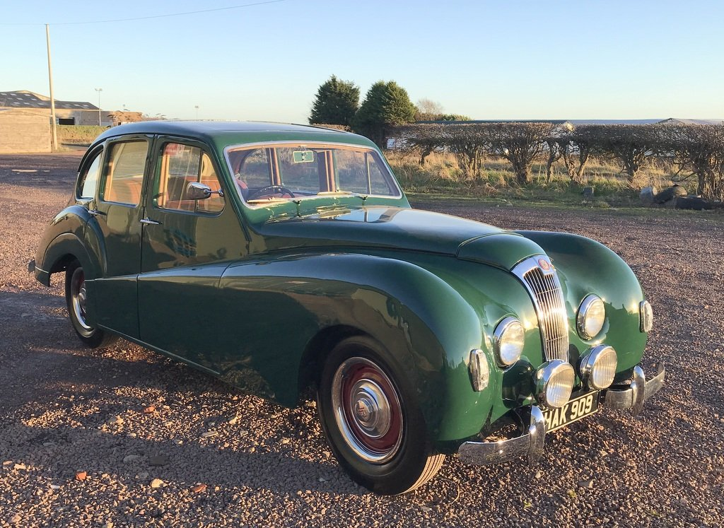 1951 Lea Francis 14 Sports Saloon SOLD (picture 1 of 6)