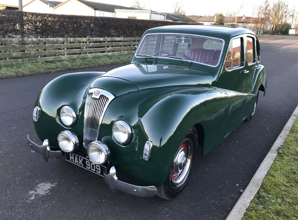 1951 Lea Francis 14 Sports Saloon SOLD (picture 2 of 6)