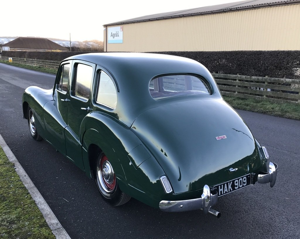 1951 Lea Francis 14 Sports Saloon SOLD (picture 4 of 6)