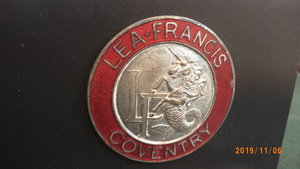 Lea Francis Car Mascot For Sale