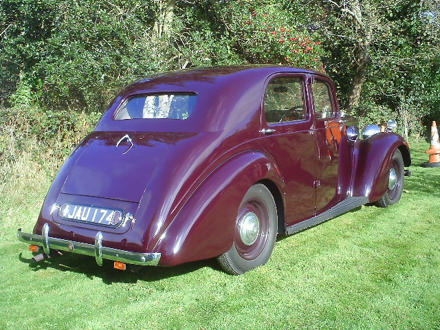 1947 Lea Francis 14hp Four Light Saloon For Sale (picture 2 of 6)