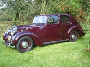 1947 Lea Francis 14hp Four Light Saloon For Sale