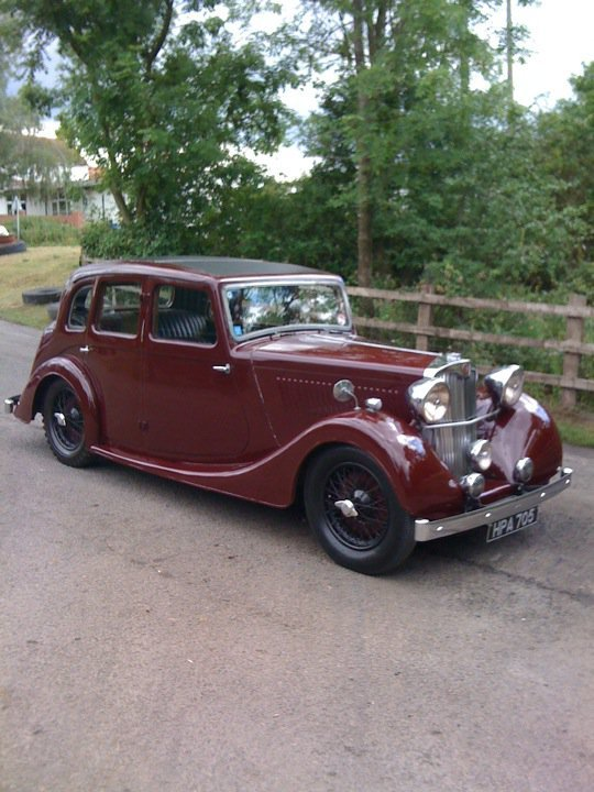 1938 Lea Francis 12/9 Saloon For Sale (picture 1 of 6)