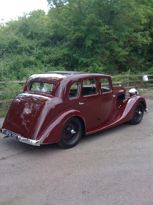 1938 Lea Francis 12/9 Saloon For Sale (picture 2 of 6)