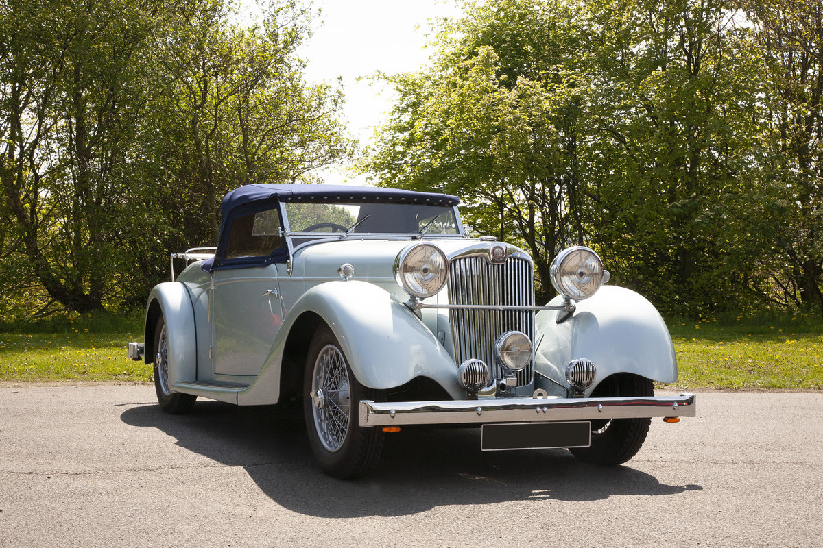 1939 Lea-Francis 12.9hp Super Sports Roadster For Sale (picture 1 of 6)