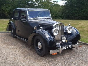 1948 Lea-Francis 14HP Saloon at ACA 22nd August
