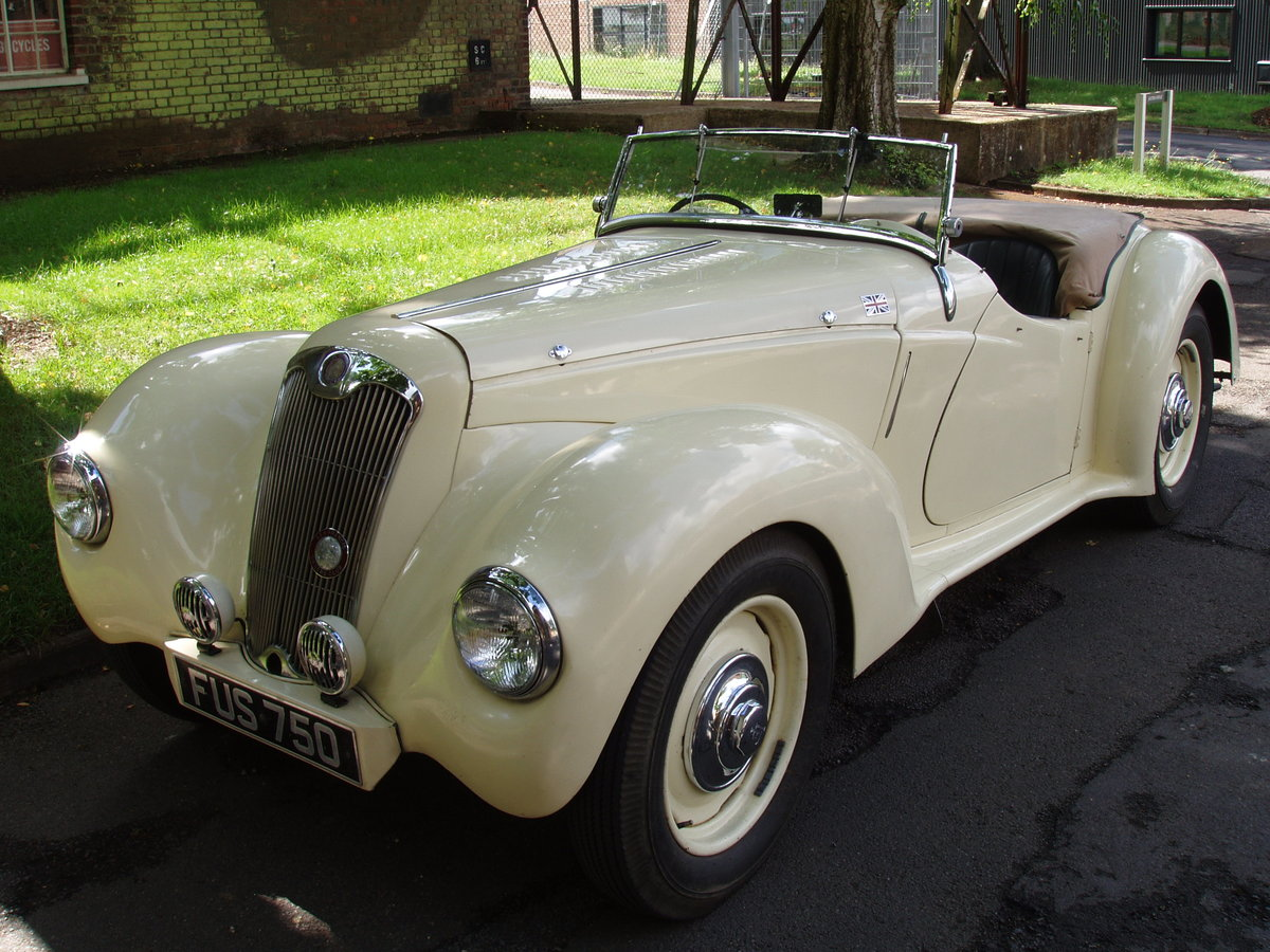 1947 Lea Francis 14 hp 2-seater open sports For Sale (picture 1 of 6)