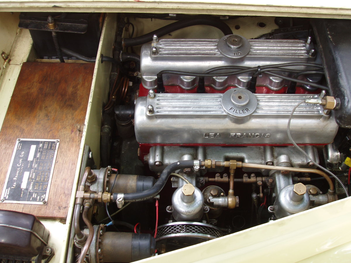 1947 Lea Francis 14 hp 2-seater open sports For Sale (picture 4 of 6)