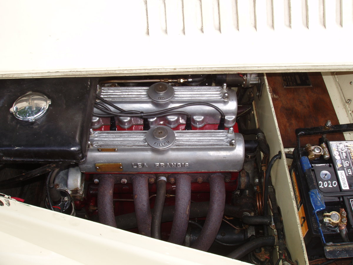 1947 Lea Francis 14 hp 2-seater open sports For Sale (picture 5 of 6)