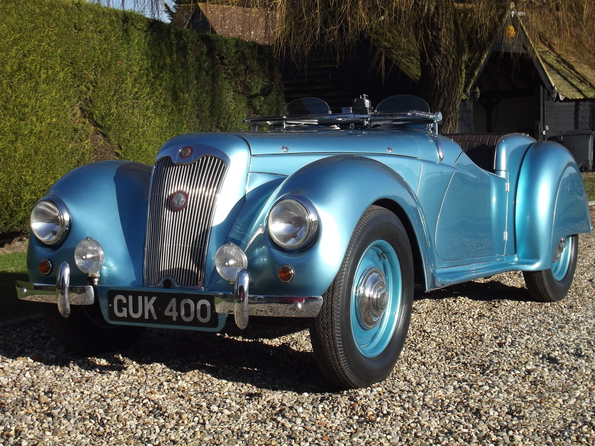 1948 Lea Francis 14HP Sports, beautiful example For Sale (picture 3 of 25)