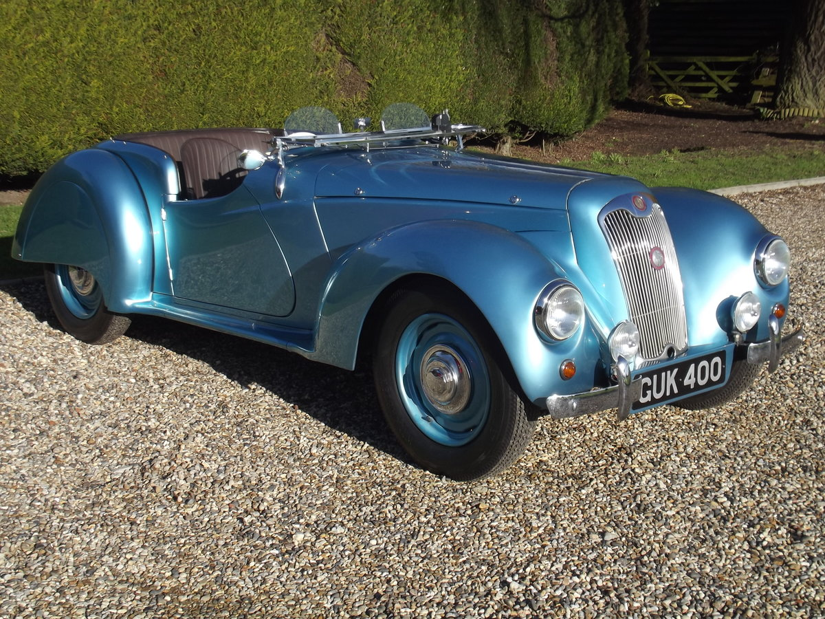 1948 Lea Francis 14HP Sports, beautiful example For Sale (picture 4 of 25)