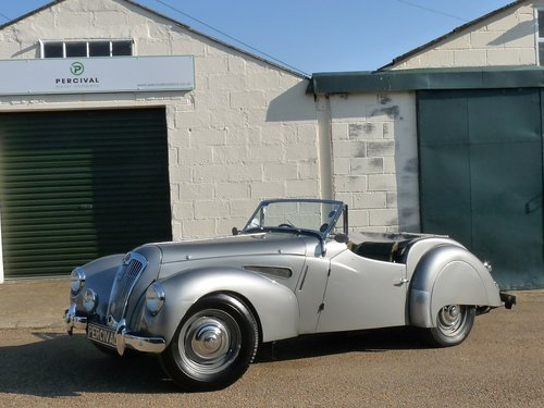 1950 Lea Francis 2 1/2 litre Sports, Sold SOLD (picture 1 of 6)