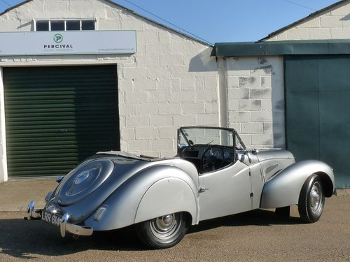 1950 Lea Francis 2 1/2 litre Sports, Sold SOLD (picture 2 of 6)