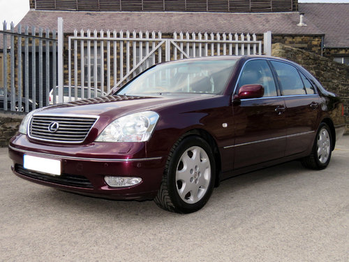2002 Lexus LS430 - 88K - FSH - 1 Owner - Massive Specification SOLD (picture 1 of 6)