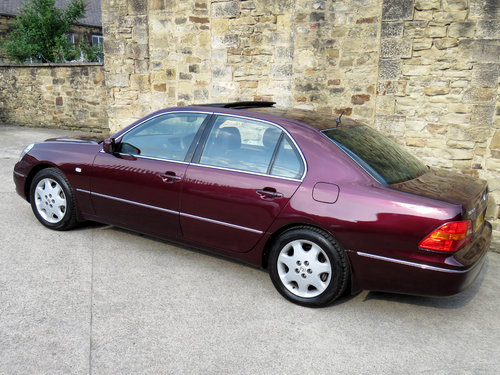 2002 Lexus LS430 - 88K - FSH - 1 Owner - Massive Specification SOLD (picture 2 of 6)