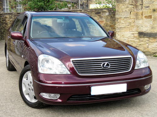 2002 Lexus LS430 - 88K - FSH - 1 Owner - Massive Specification SOLD (picture 3 of 6)