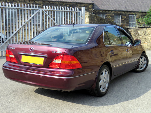 2002 Lexus LS430 - 88K - FSH - 1 Owner - Massive Specification SOLD (picture 4 of 6)
