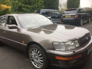STUNNUNG 1990 LEXUS LS400-ONLY 39996 GENUINE MILES For Sale