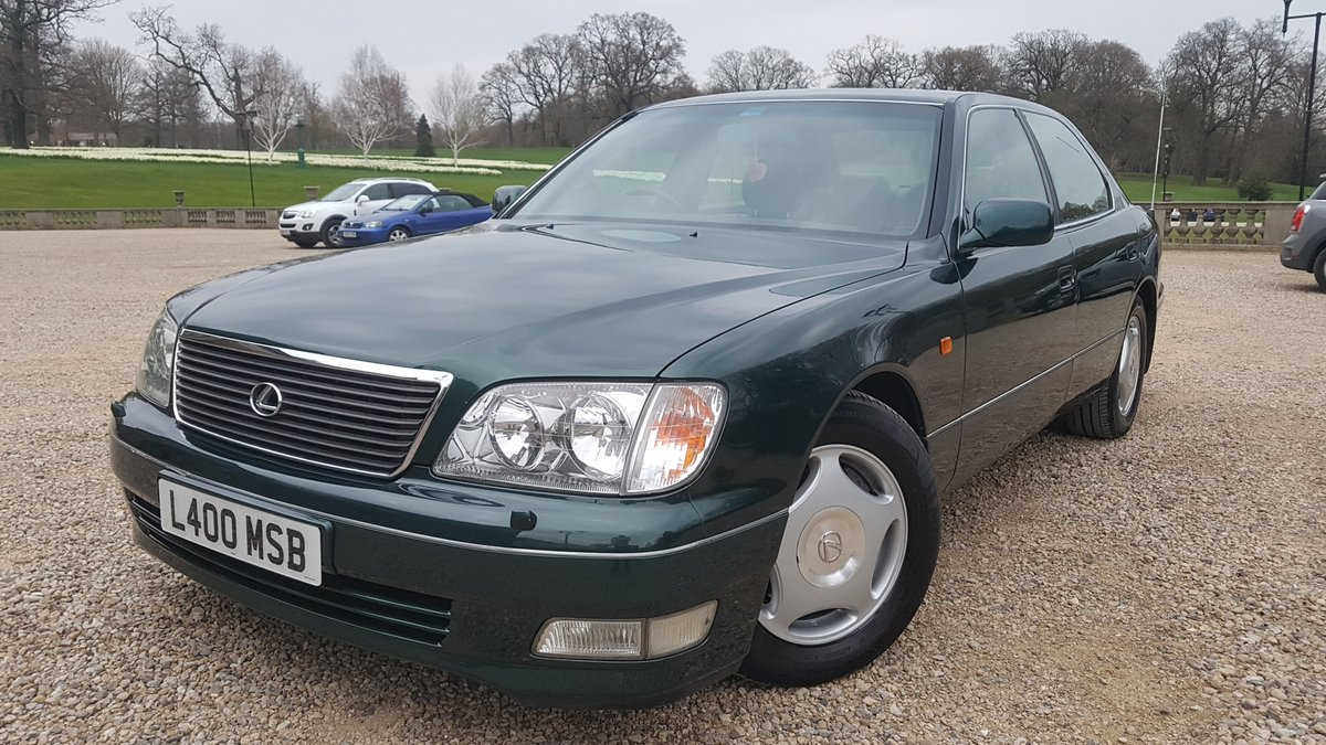 1998 S Lexus LS400 4.0 V8 4dr 21x Lexus Stamps For Sale (picture 2 of 6)