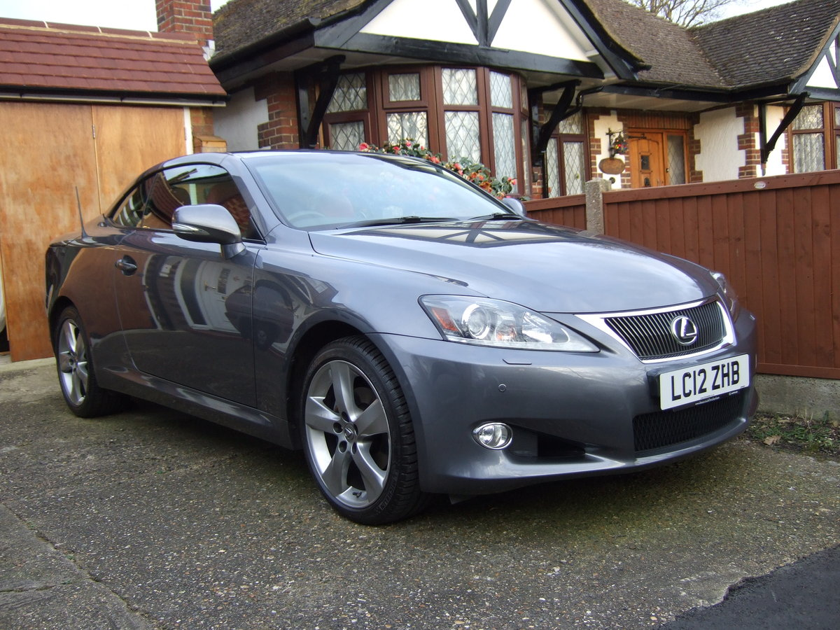 2012 Lexus IS250C Limited Edition Convertible For Sale (picture 1 of 6)