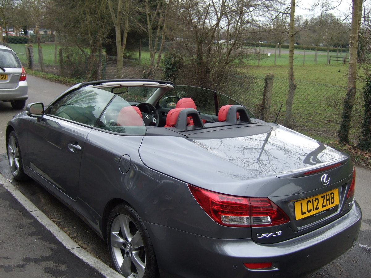 2012 Lexus IS250C Limited Edition Convertible For Sale (picture 2 of 6)