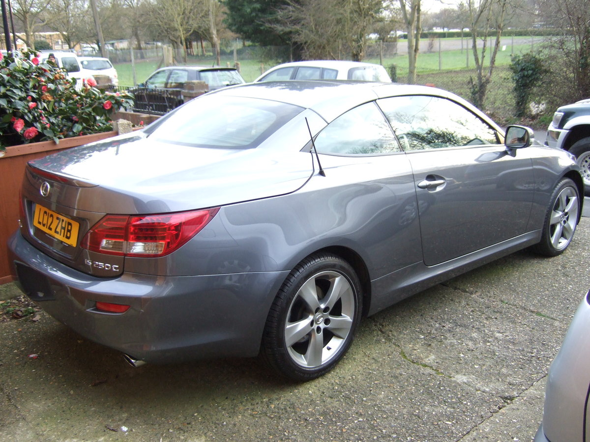 2012 Lexus IS250C Limited Edition Convertible For Sale (picture 3 of 6)